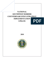 National Southwest Border Counternarcotics Strategy Implementation Update 2010