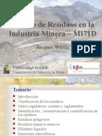Manejo de Residuos en La Industria Minera