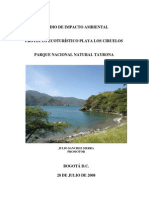 Estudio Impacto Ambiental Tayrona