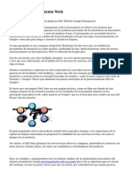 Article   Posicionamiento Web