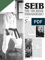 Seibukan Shorin Ryu