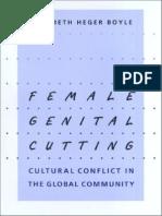 Female Genital Cutting [Elizabeth Heger Boyle]