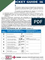 Pocket Guide16 IP CODES