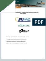Asocem - Pavimentos de Hormigón Una Alternativa Inteligente y Sostenible Marzo 2014