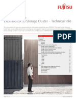Best Practice Eternus Dx s3 Storage Cluster