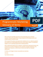 AcuityAds Programmatic Marketing Glossary 2014