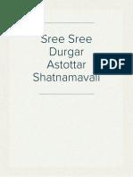 Sree Sree Durgar Astottar Shatnamavali