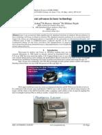 Recent advances in laser technology