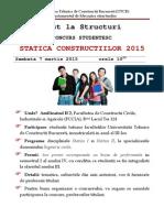 Concurs Statica 2015