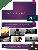 deseo suicida adolescente