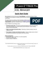Excel Quickstart
