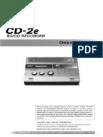 CD-2e SD/CD Recorder