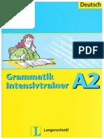 Übungsgrammatik Deutsch A1 bis B1
