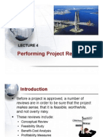 Lecture 5 - Performing Project Reviews