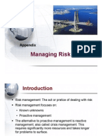 Lecture 12- Risk Management