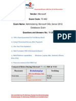 Braindump2go New Updated 70-462 Exam Dumps Free Download (11-20)