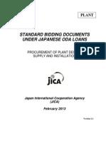 JICA standard bidding document