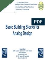 4 Basic Building Blocks