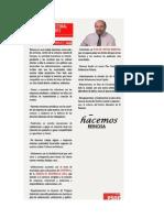 Programa Electoral PSOE Ayuntamiento Reinosa