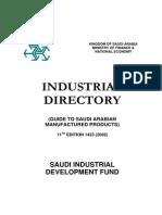 Supplier List (Ministry of Finance - Saudi Arabia)