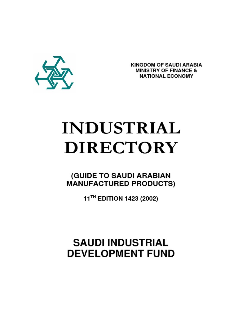 Supplier List (Ministry of Finance - Saudi Arabia)