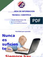 Curso Taller Busqueda de Informacion Cientifica UPeU Juliaca