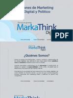 Marketing Digital y Político Propuesta e Inversión 2015