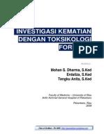 Investigasi Kematian Dengan Toksikologi Forensik Files of Drsmed