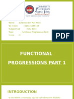 Functional Progressions And