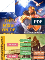 2nd Quarter 2015 Lesson 8 Powerpoint Presentation the Mission of Jesus