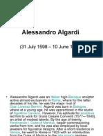Alessandro Algardi prez