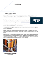 Concrete Column Formwork