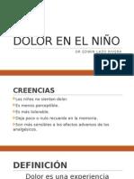 Dolor en El Niño Unsa 2015