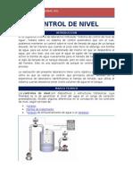 Lab Automatizacion Control de Nivel
