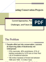 Evaluating Conservation Projects Mauricio Talebi