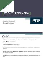 Ética y Legislación Presentacion