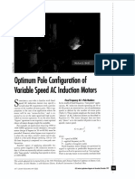 IEEE Industry Applications Magazine Volume 3 Issue 6 1997 [Doi 10.1109_2943.628109] Melfi, M.J. -- Optimum Pole Configuration of Variable Speed AC Induction Motors