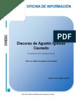 Presentación del Programa Electoral. Populares Ovetenses