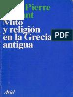 2 Vernant Mito y Religion en La Grecia Antigua