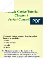multiple chice tutorial chapter 8 perfect competition