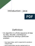 JAVA Introduction 2