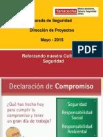 Parada de Seguridad Mayo Proyectos - 2015 xtreme