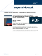 Permit to Work - Hse
