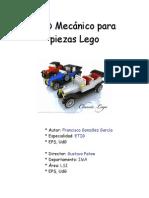 CAD Mecànico Para Piezas Lego