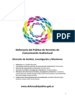 Informe Global Monitoreos 2014 Primera Parte (1)