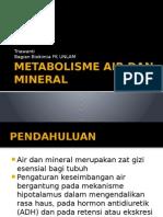 Metabolisme Air Dan Mineral