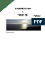 Tener Religion Parte 3