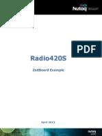 ZedBoard Examples Radio420S