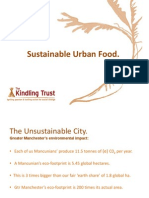 Sustainable Urban Food Production