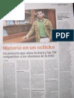 Entrevista a Diego Sobrino en ABC